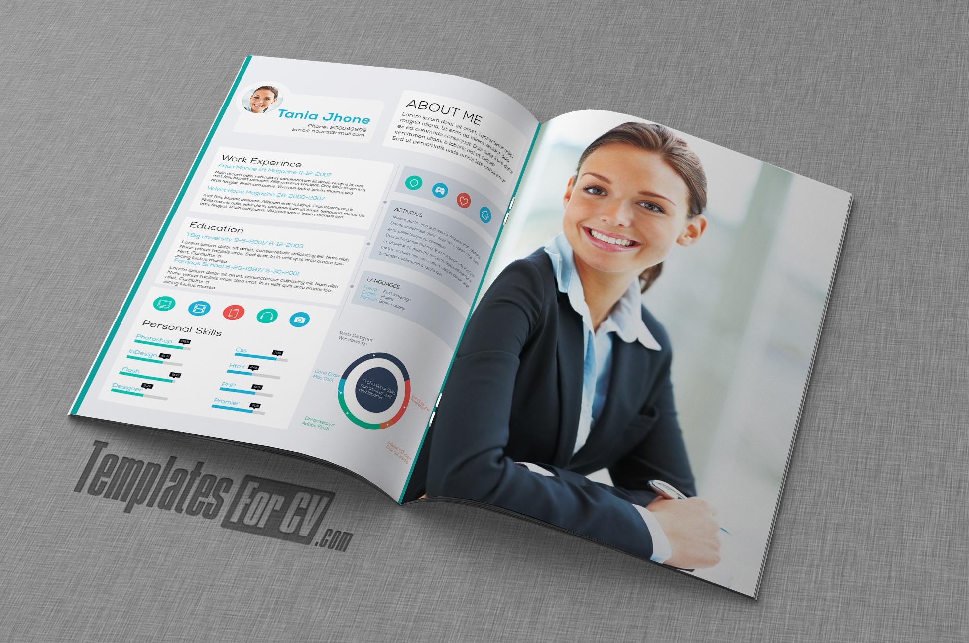 cv template executive cv template