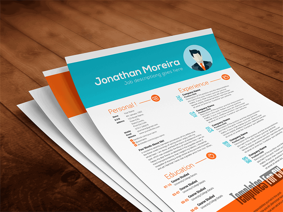 professional resume sample top