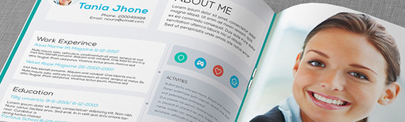 Executive CV Template – Tania Jhone